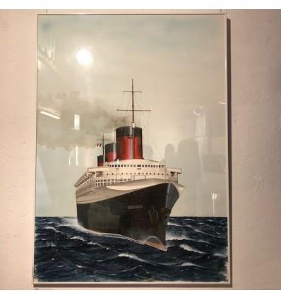 Tableaux de l'exposition de peintures de Uli Colombi 2018