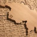 Sous plat LA SUISSE en bois