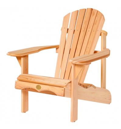 Adirondack Chair en cèdre du Canada OUTDOOR