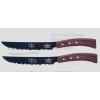 Mrs & Mr Panoramique Suisse Teflon set/2 couteaux