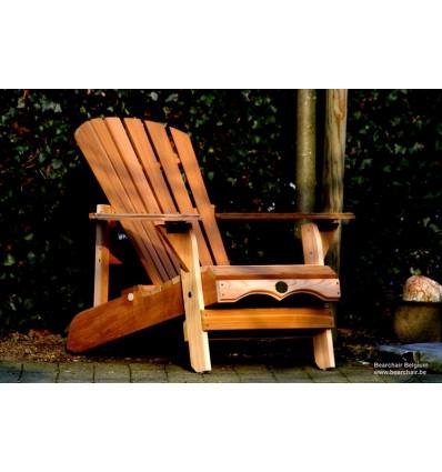 RECLINER Adirondack Chair cèdre ROUGE du Canada OUTDOOR