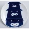 Set/5 assiettes Animals Kihara - Animaux