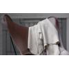 Detail Chocolate BUTTERLFLY Chair Cuero