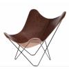 Chocolate BUTTERLFLY Chair Cuero