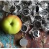Boussole compas en nickel D 3cm