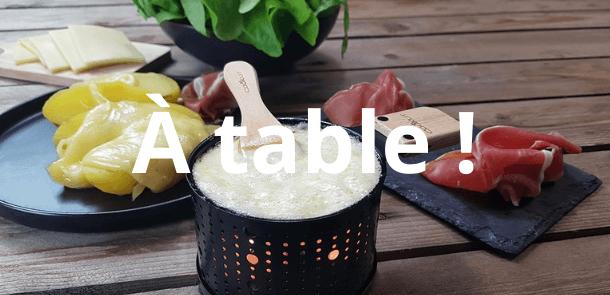 La maison - à table