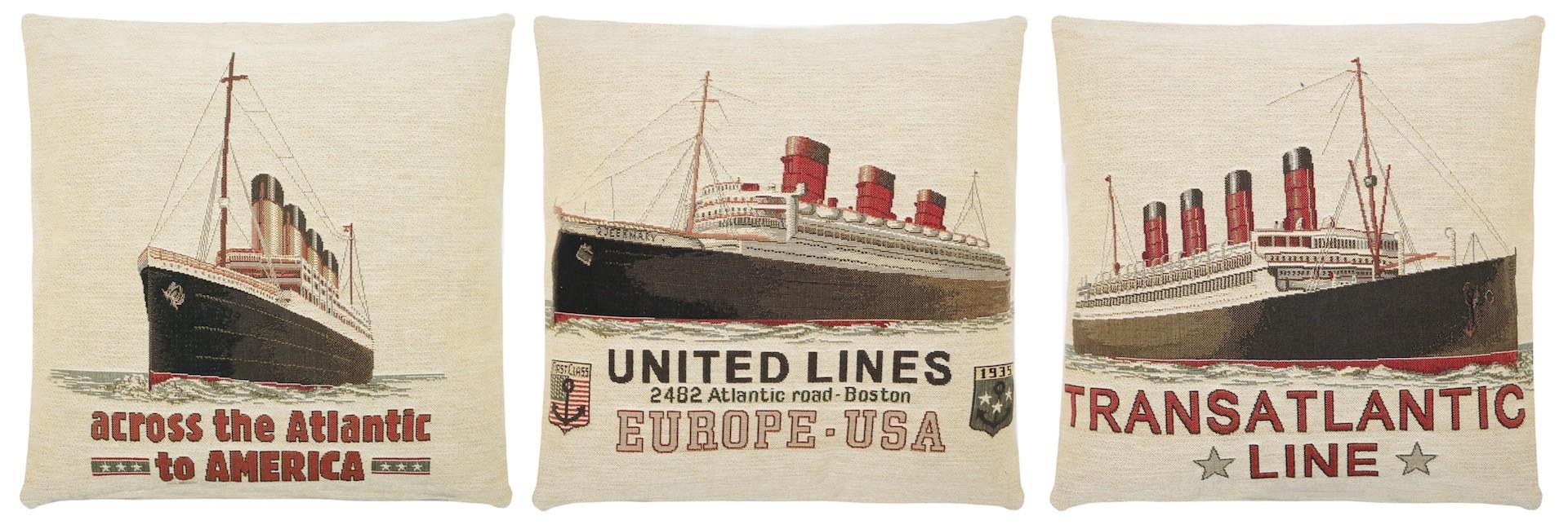 titanic cushions