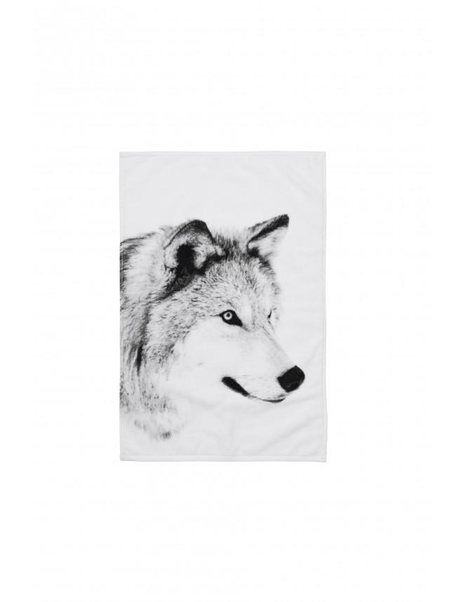 Wolf Towel
